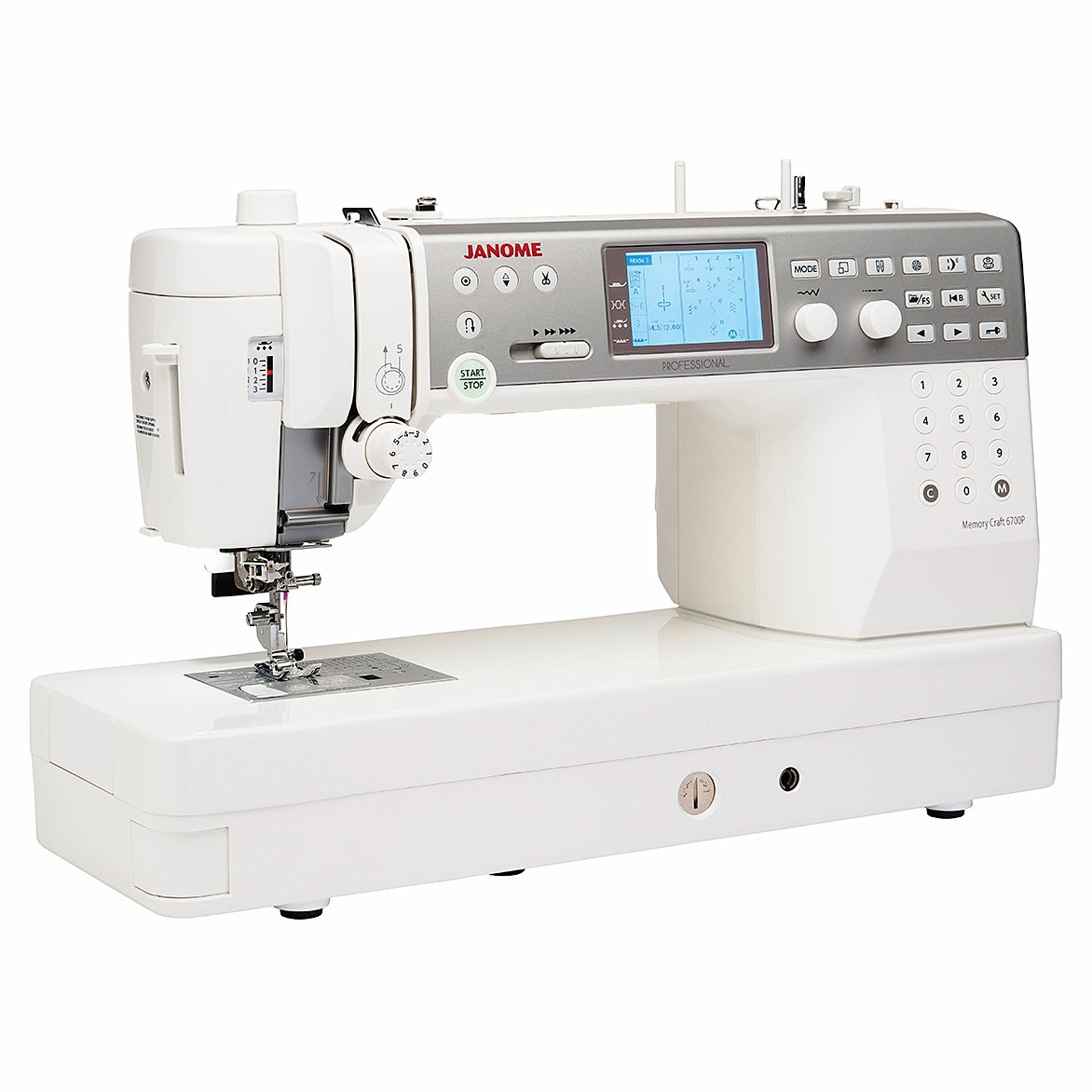 Janome MC6700P Quilting and Sewing Machine