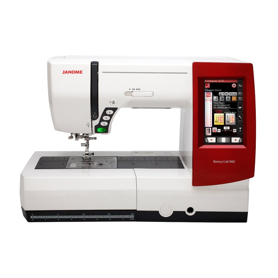 Janome MC9900 Sewing and Embroidery Machine