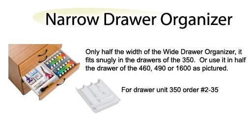 Narrow Drawer Organizer