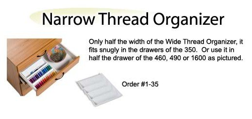 Narrow Thread Organizer
