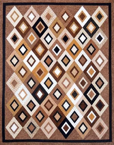 Nested Gems Quilt Pattern