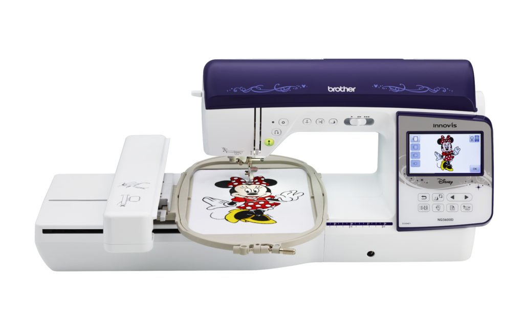 Brother Innov-is NQ3600D Combo Sewing & Embroidery Machine