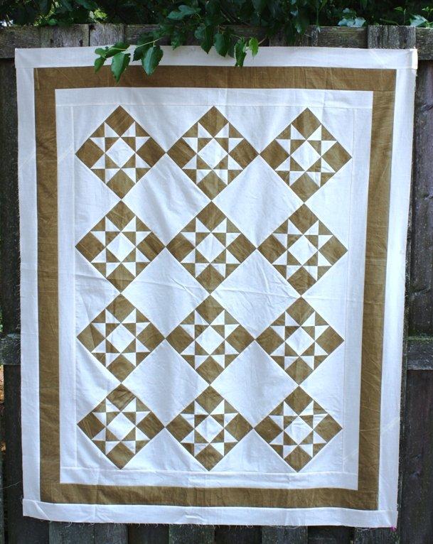 Ohio Star Quilt Pattern - RRQ Original