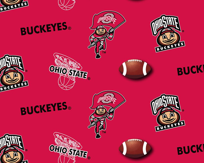 OHS-041 Ohio State Buckeyes Football Basketball All Over