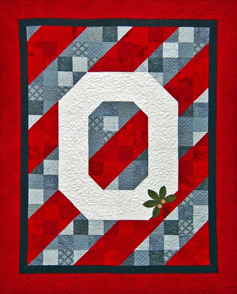 OSU Champions Large Lap Quilt Kit