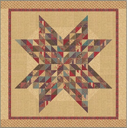 Paris Texas Quilt Kit