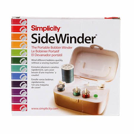 Portable SideWinder Bobbin Winder