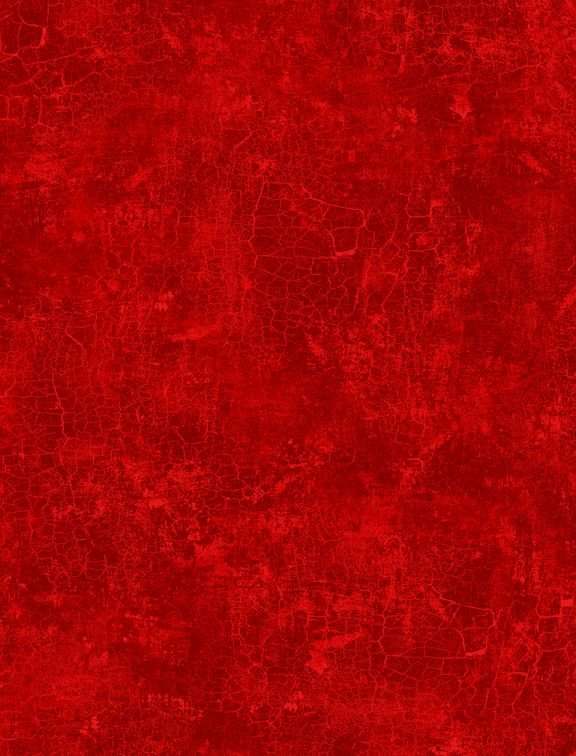 Q1077-89162-330 Crackle Ruby Red