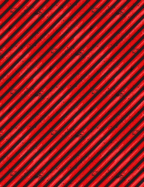 Q1876-69305-339 Diagonal Stripes red
