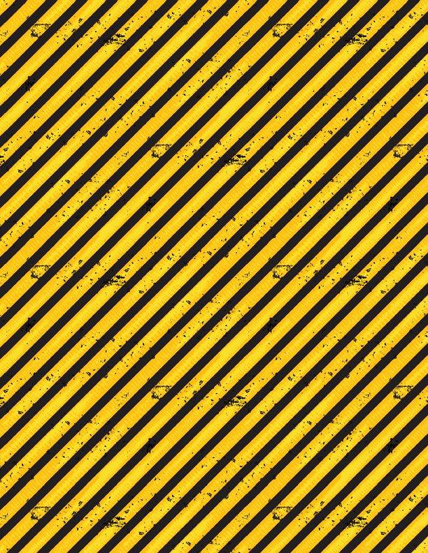 Q1876-69305-559 Diagonal Stripes yellow