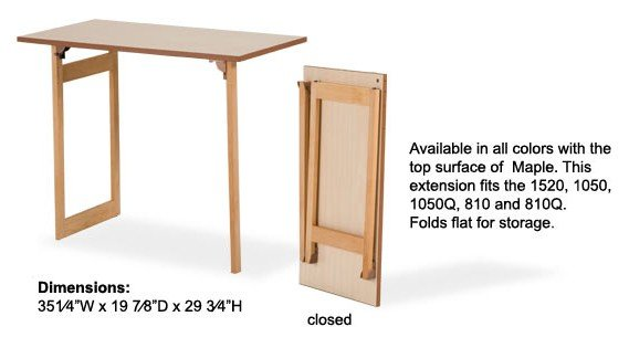 Quilter's Extension for 810 1050 1520 Cabinets