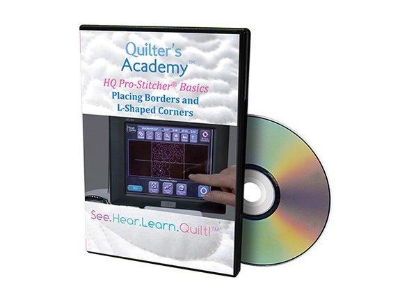 QA - HQ Pro-Stitcher Classic Basics Placing Borders and L-Shaped Corners DVD