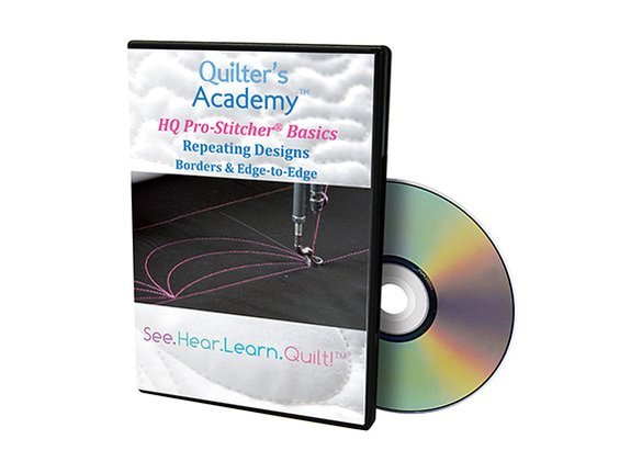 QA - HQ Pro-Stitcher Classic Basics Repeating Designs Borders & Edge-to-Edge DVD
