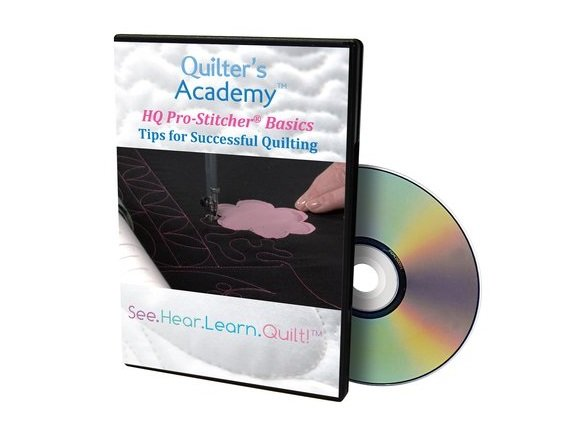 QA - HQ Pro-Stitcher Classic Basics Tips for Successful Quilting DVD