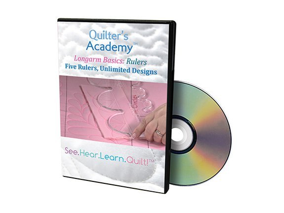 QA - Longarm Basics Rulers Five Rulers Unlimited Designs DVD