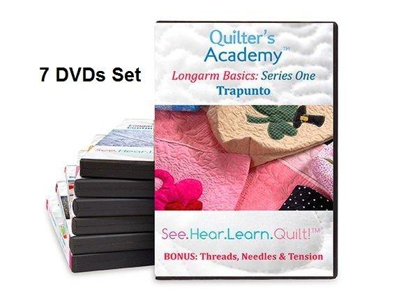 QA - Longarm Basics Series One 7 DVDs Set