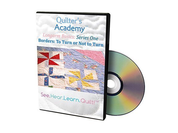 QA - Longarm Basics Series One Borders To Turn or Not to Turn DVD