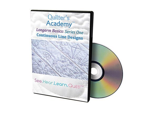 QA - Longarm Basics Series One Continuous Line Designs DVD