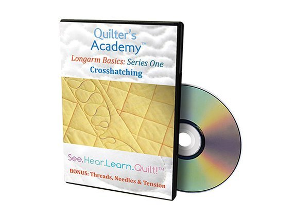 QA - Longarm Basics Series One Crosshatching DVD