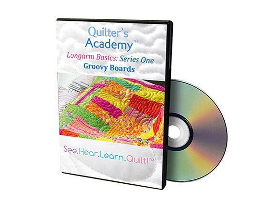 QA - Longarm Basics Series One Groovy Boards DVD