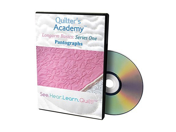 QA - Longarm Basics Series One Pantographs DVD