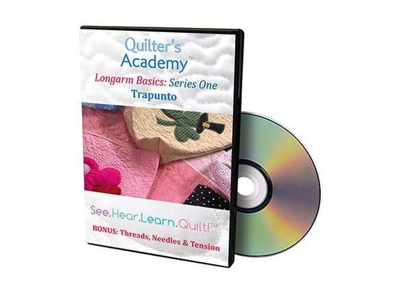 QA - Longarm Basics Series One Trapunto DVD