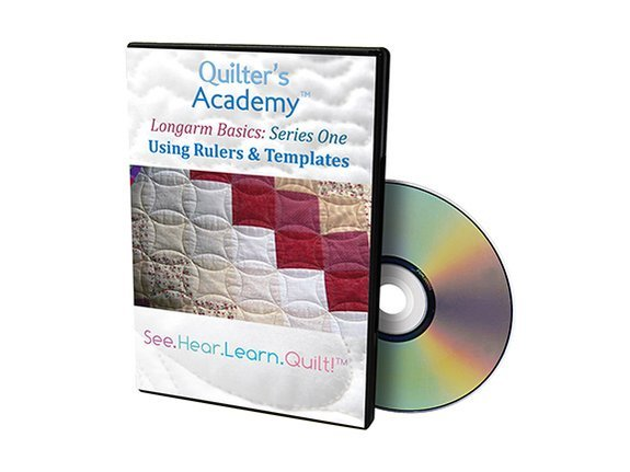 QA - Longarm Basics Series One Using Rulers & Templates DVD