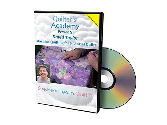 QA - Machine Quilting for Pictorial Quilts DVD