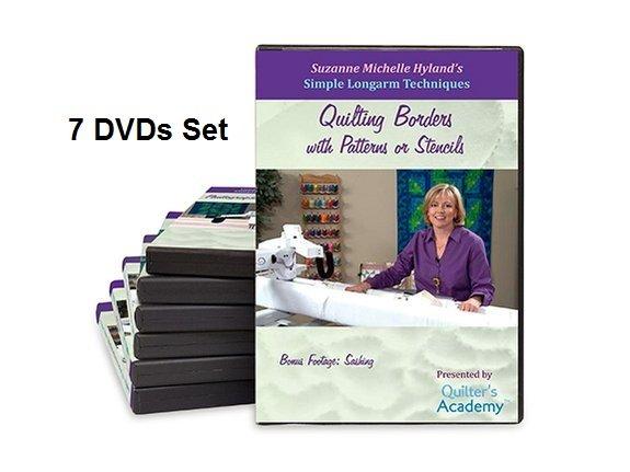 QA - Simple Longarm Techniques 7 DVDs Set