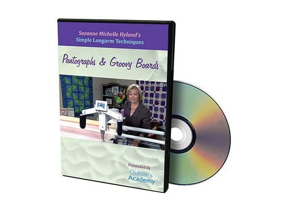 QA - Simple Longarm Techniques #7 Pantographs & Groovy Boards DVD