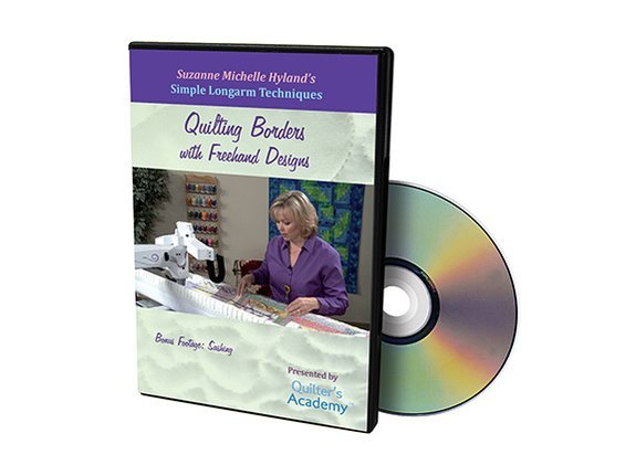 QA - Simple Longarm Techniques #2 Quilting Borders with Freehand Designs DVD