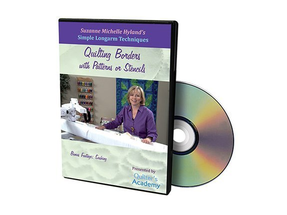 QA - Simple Longarm Techniques #4 Quilting Borders with Patterns or Stencils DVD