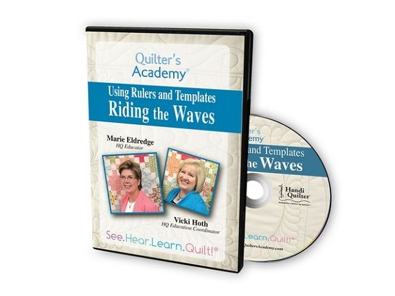 QA - Using Rulers and Templates Riding the Waves DVD