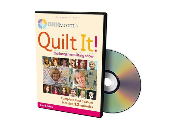 Quilt It! The Longarm Quilting Show Series 1 DVD