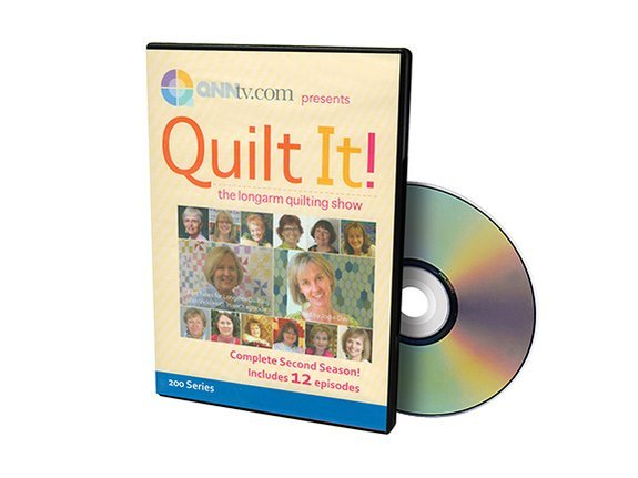 Quilt It! The Longarm Quilting Show Series 2 DVD