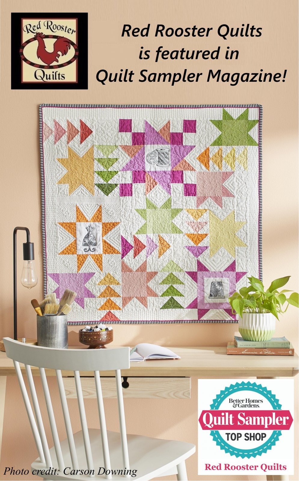 PRE-ORDER Quilt Sampler Magazine Spring/Summer 2021 issue