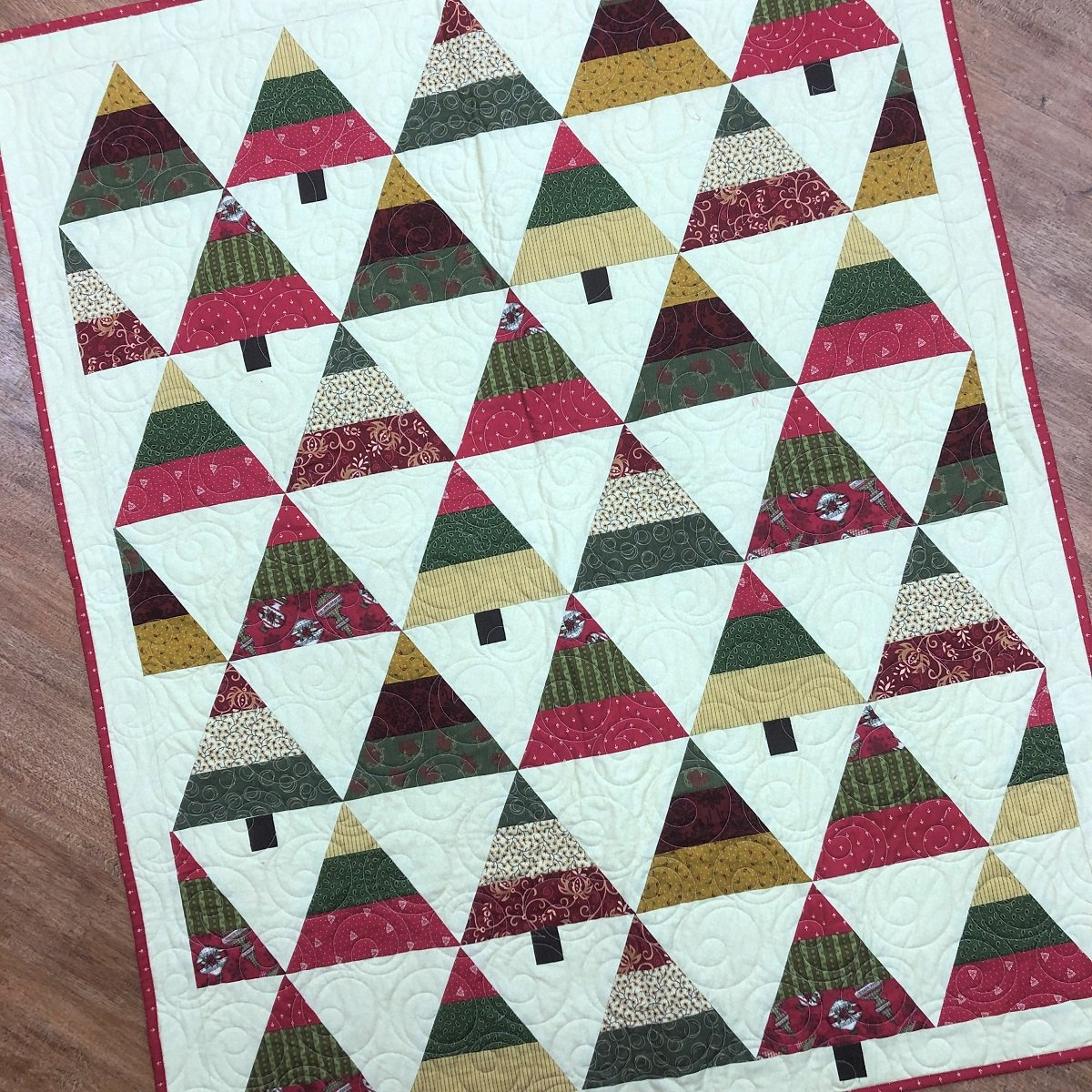 Sample - Christmas Trees Quilt