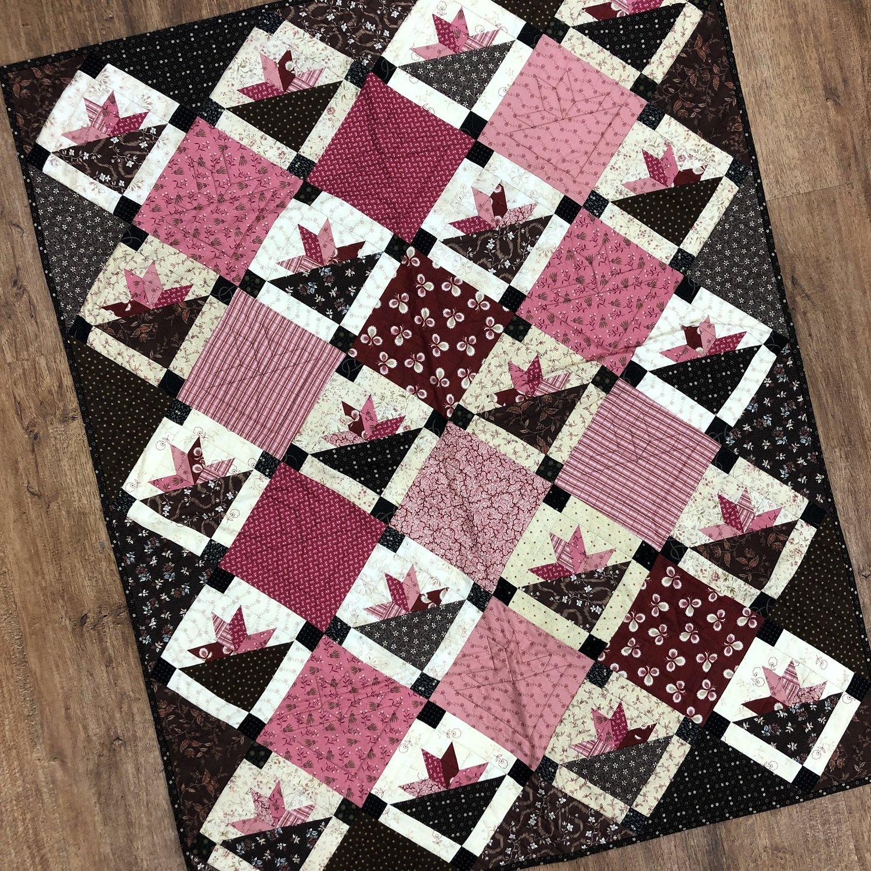 Sample - Pink Baskets Quilt