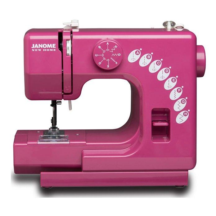 Janome Sew Mini Sewing Machine - Merlot