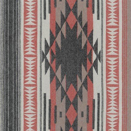 SRKF-17912-2 Black Taos Flannel
