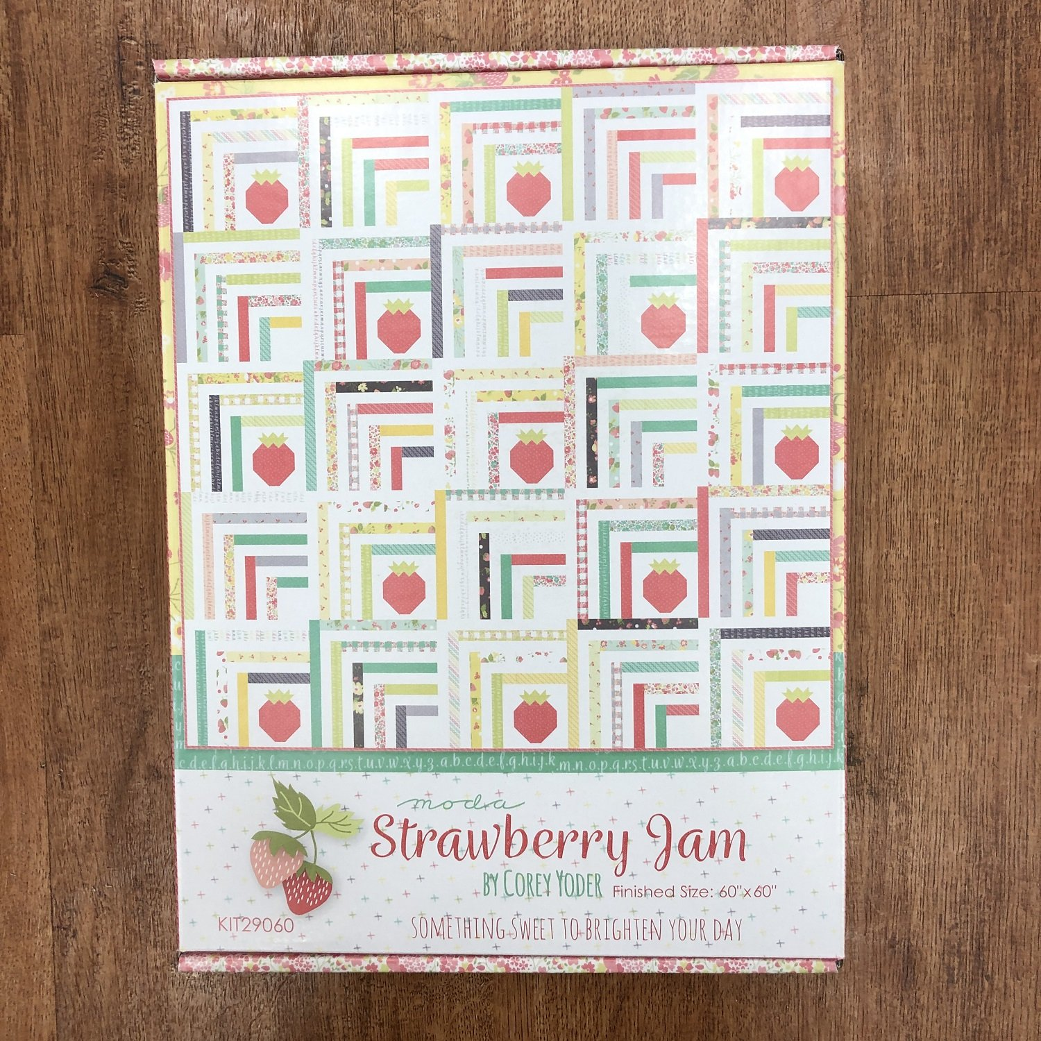 Strawberry Jam Sincerely Yours Quilt Kit