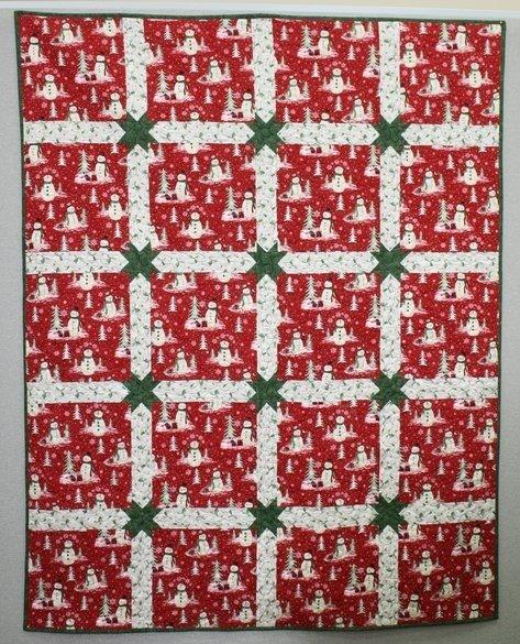 Woodland Christmas Quilt Pattern - RRQ Original