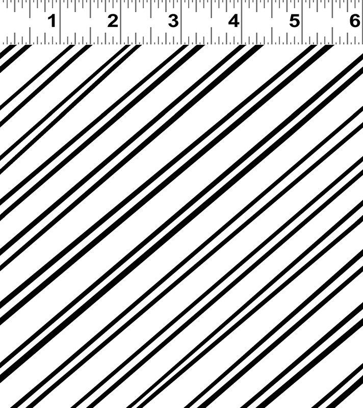 Y2477-01 White Stripes