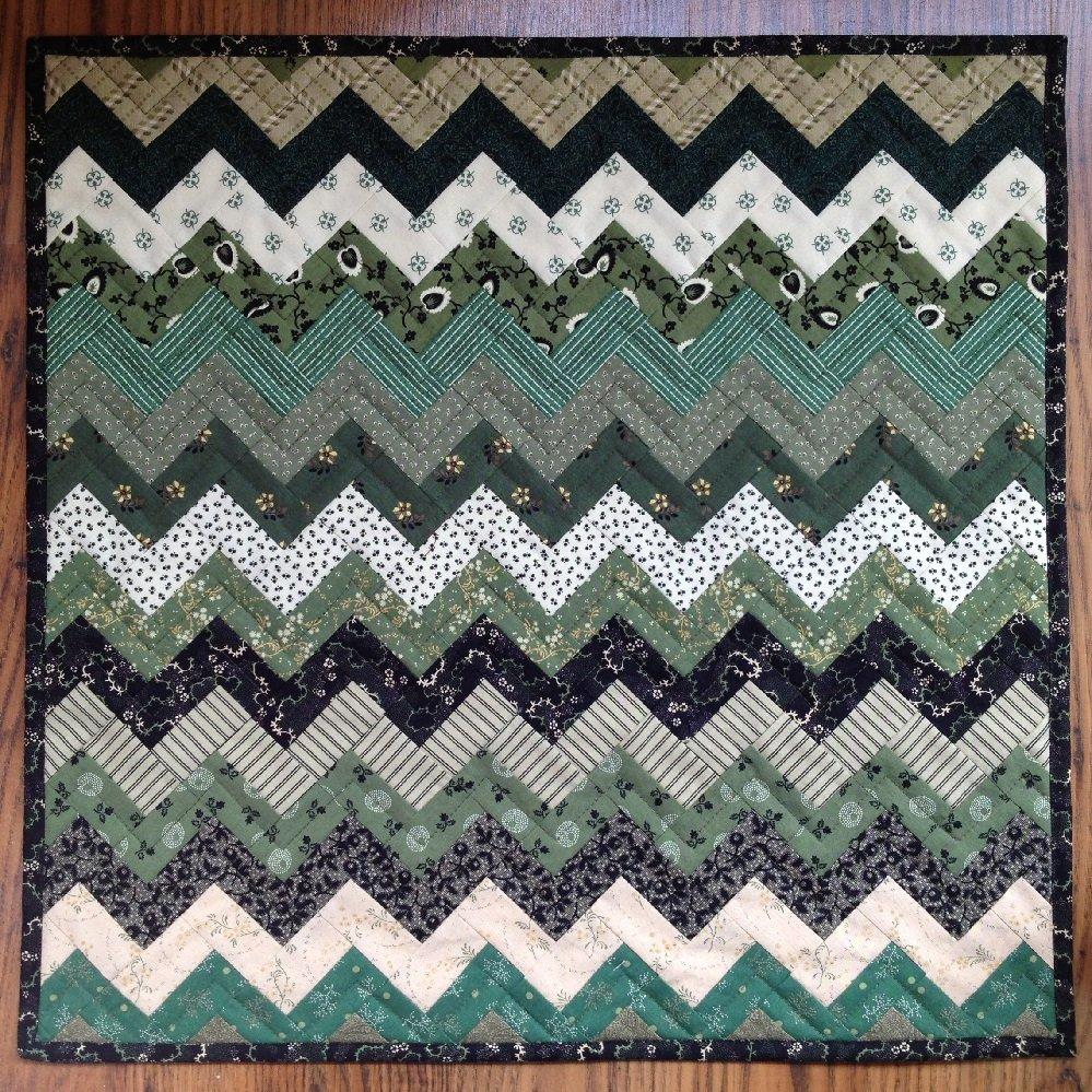 Zig & Zag Quilt Pattern - RRQ Original