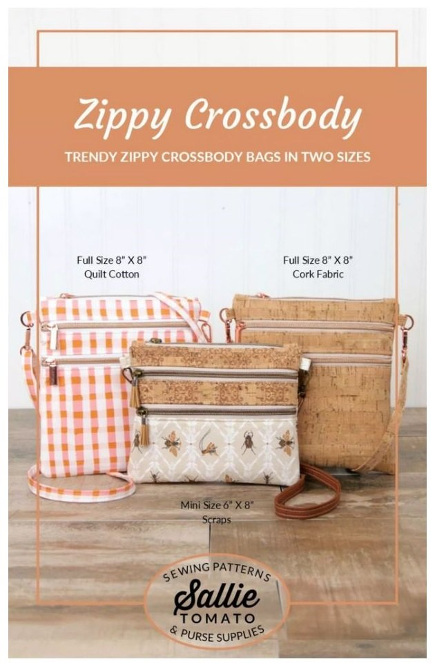Zippy Crossbody Bags Pattern