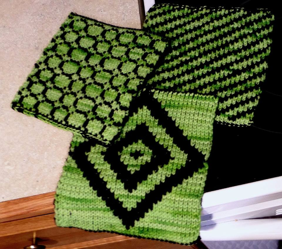 Learn Double Knitting