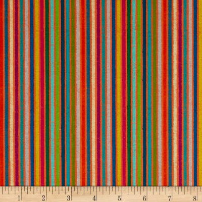 STOF France Le Quilt Ile Aux Oiseaux Stripes Multi Fabric