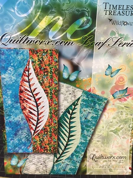 ONE by Judy Niemeyer foundation quilt kit