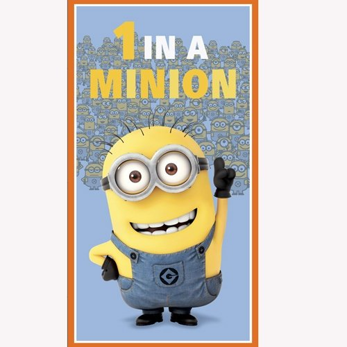 1 In A Minion Panel - blue