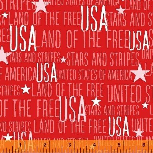 Stars & Stripes Red USA